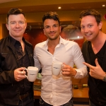 Peter Andre and Rick Astley